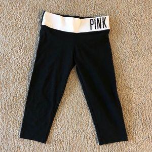 VS pink yoga capris